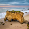 El Matador Beach Rocks at Sunset (California)