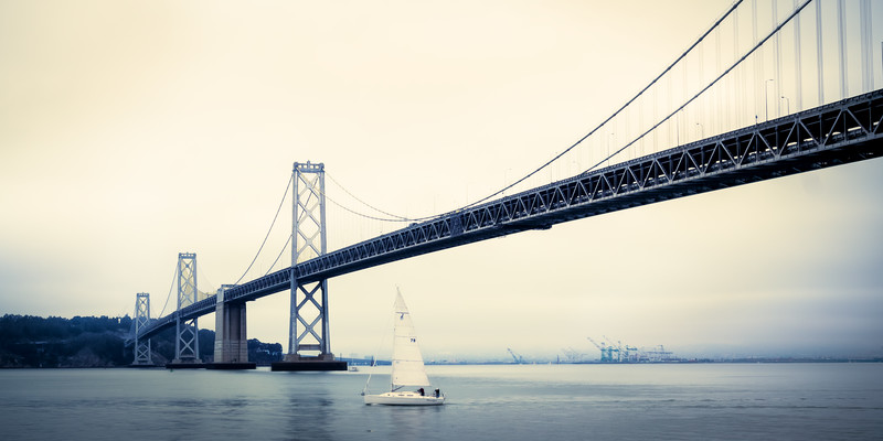 Travel Photography Blog: California. San Francisco. Bay Bridge