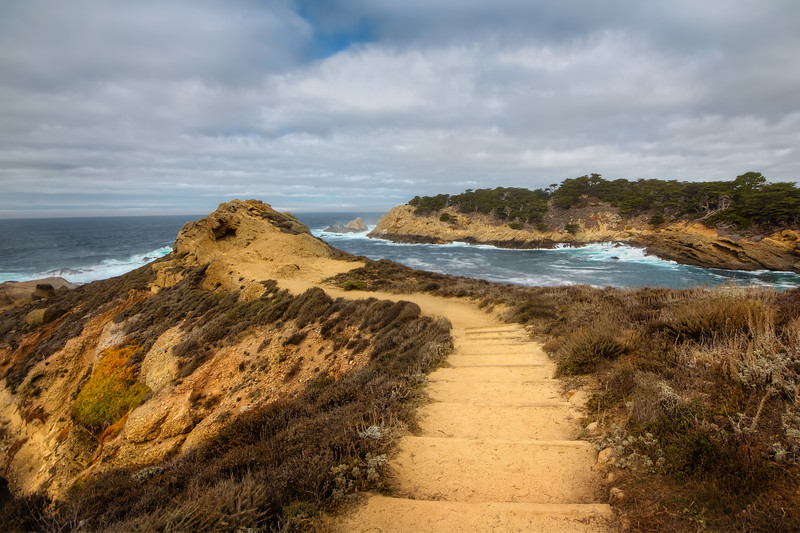 Travel Photography Blog - California. Point Lobos State Reserve. Sea Lion Point Trail