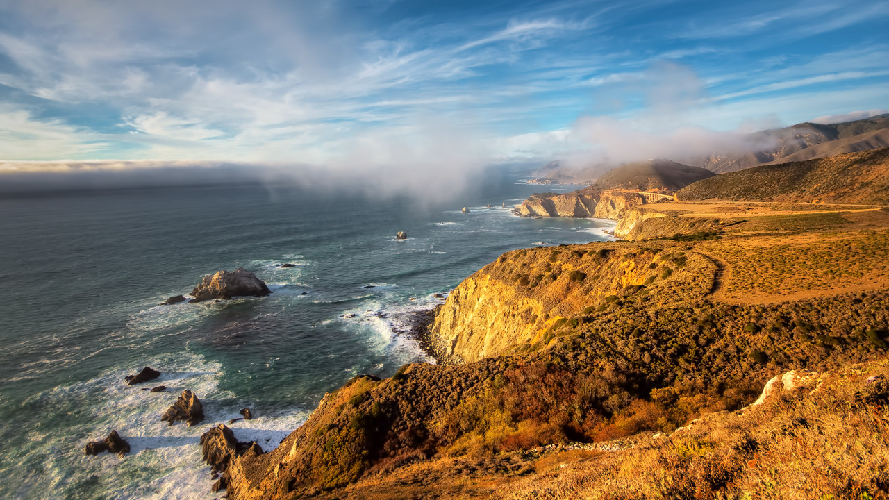 photography guide to big sur bixy bridge