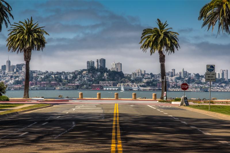 Travel Photography Blog: California. San Francisco. Treasure Island , Telegraph Hill