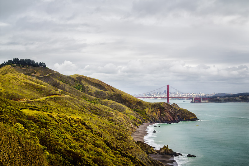 Travel Photography Blog: California. San Francisco. Battery Rathbone
