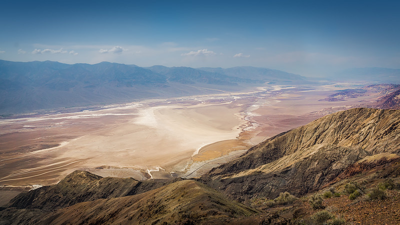 California. Death Valley. Dantes View