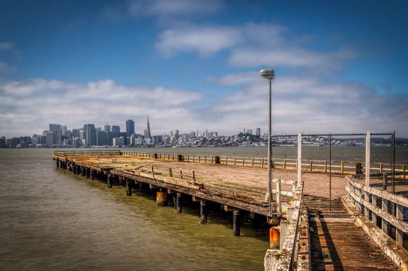Travel Photography Blog: California. San Francisco. Treasure Island's Old Pier