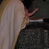 Callyn's turn to be baptized