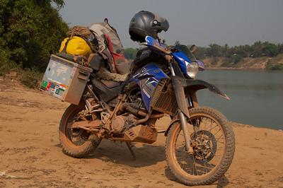 Muddy bike = badass bike!
