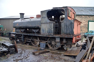 0-6-0ST NCB 453 at Oswestry   28/11/15