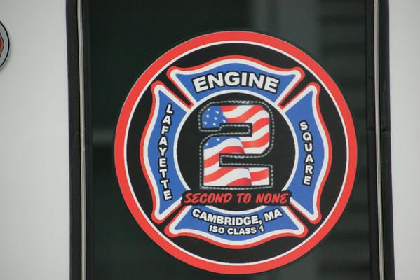 Cambridge Ma. 9 Alarms 159 Alston St  07/27/2014