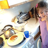 "It's pancake Friday at the wood house. Recipe: <a href=""http://allrecipes.com/recipe/vegan-pancakes/"">http://allrecipes.com/recipe/vegan-pancakes/</a>"