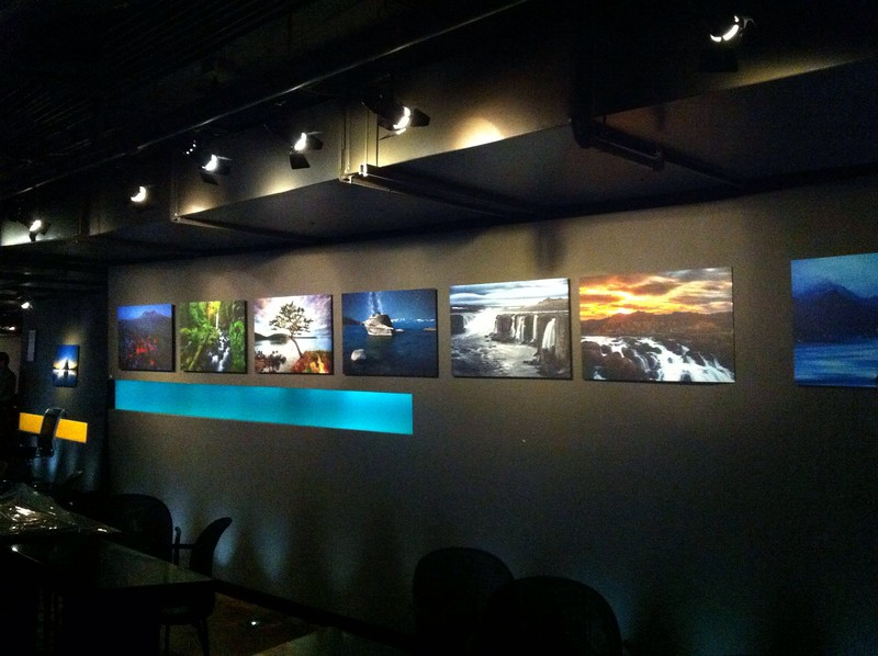 I have 20 photos on exhibit at the Triple Door in Seattle. Come down and say hi:)