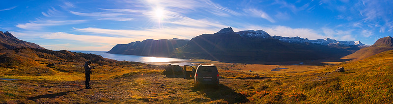 Paul Weeks Taking Photos in the Remote East Fjords of Iceland