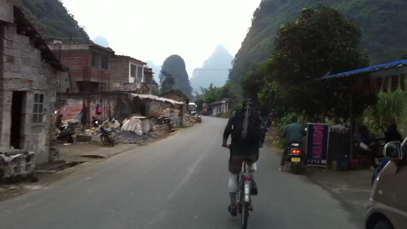 Bike Riding in Yangshuo China