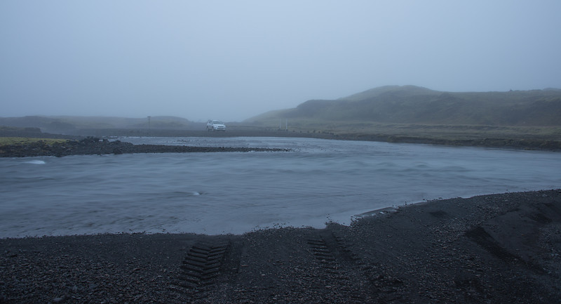 Fording some streams in central Iceland