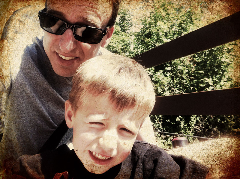 Alpine Coaster with Elliot!