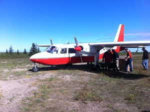 Bush plane in Manitoba