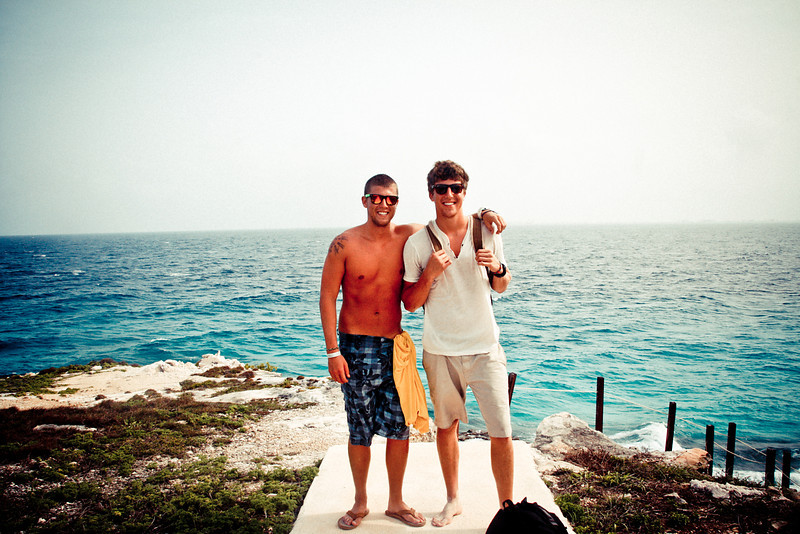 My brother Lee & I in Isla Mujeres Mexico