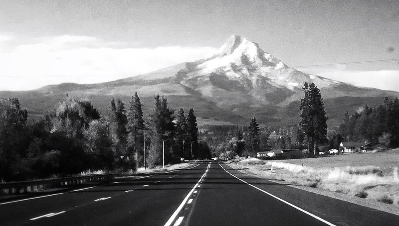 Full speed towards Mt. Hood Oregon
