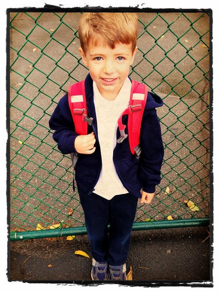 Rainy school day!