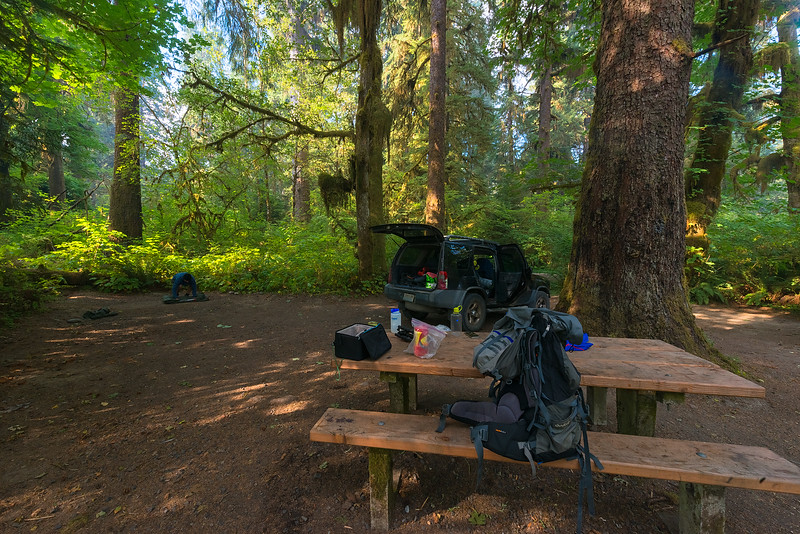 Preparing for an Expedition into the Rainforest Wilderness of Olympic National Park