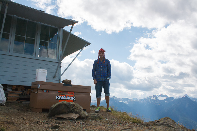 ME @ the top of Desolation Peak, Washington