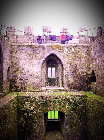 Blarney Stone - Blarney Castle (Ireland)
