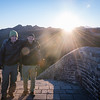 Just after Sunrise after a night of shooting the Milky Way over the Great Wall of China