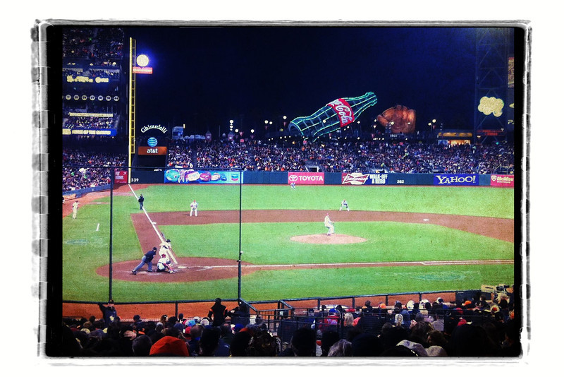 Melky wins it in the 11th! Go Gigantes!