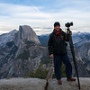 Hey that's ME! @ Half Dome in Yosemite California