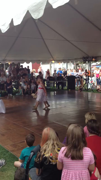 Andies fairgrounds performance August 2014