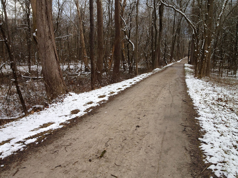Nice day for a hike at the Cuyahoga Valley National Park!