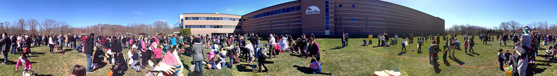 Easter Egg Hunt @ CBD -- Panorama