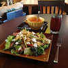 Steak salad @  Appalachia Baking Company in Elkton Va.