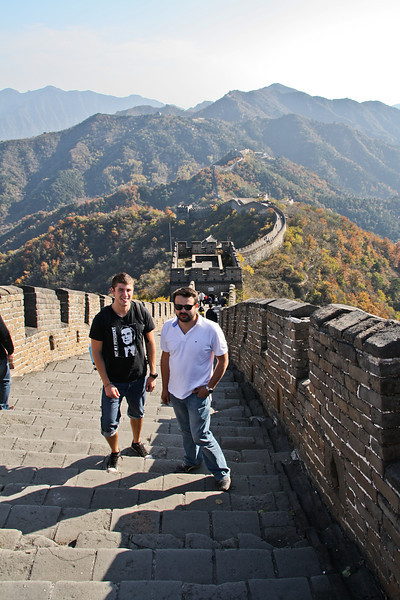 Exploring the Great Wall of China