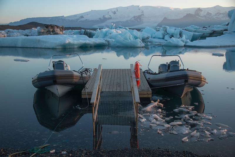 Just before sunrise. Iceland