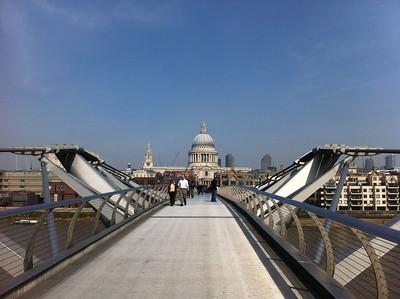 Millenium Bridge - St Pauls London