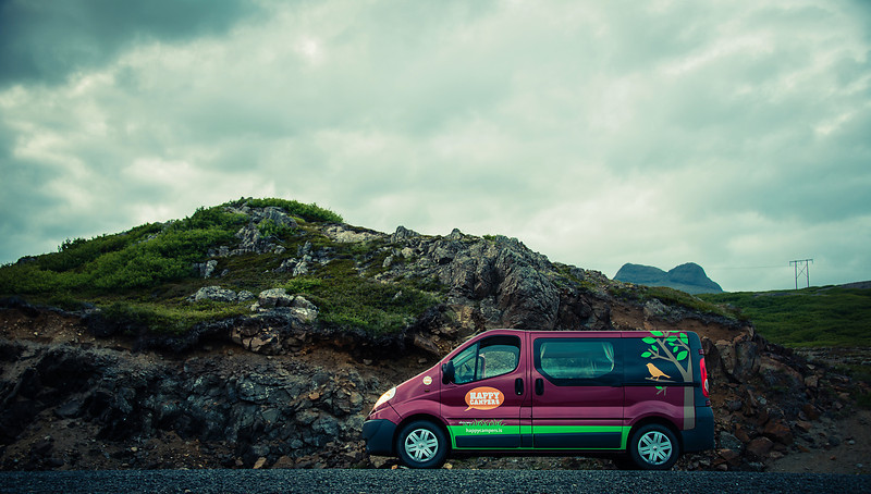 """My on the road command center in Iceland for 13 days. I went with <a href=""""http://www.happycampers.is"""">http://www.happycampers.is</a>, they are a top notch service:)"""