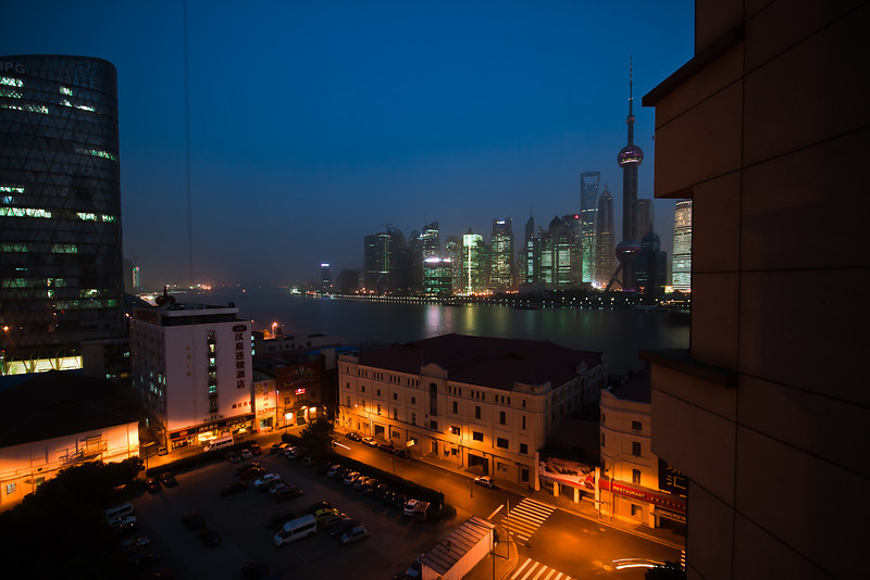 View from the Hyatt, Shanghai