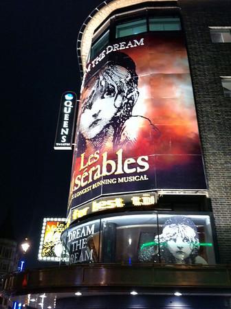 Les Miserables - Shaftesbury Avenue (London)