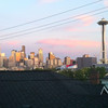 The View from my house overlooking Seattle