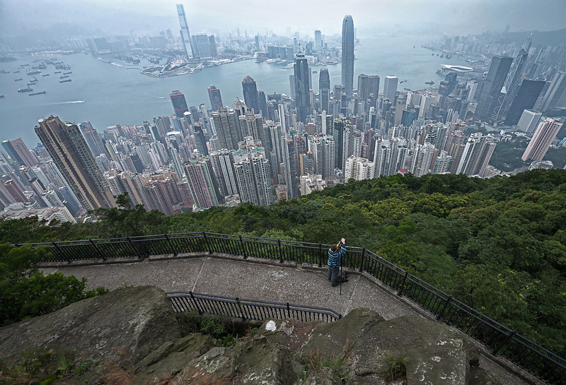 "A photo Paul took of me shooting above Hong Kong.<br /> Photo Credit:  <a href=""http://www.PaulWeeksPhotos.com"">http://www.PaulWeeksPhotos.com</a>"