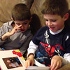 Small video clip of the boys reading a new book from Nana.