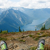 High Above Ross Lake - North Cascades, Washington