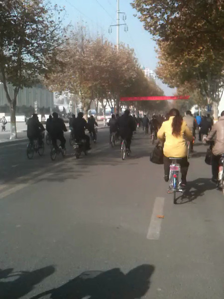 Biking in Xi'an China