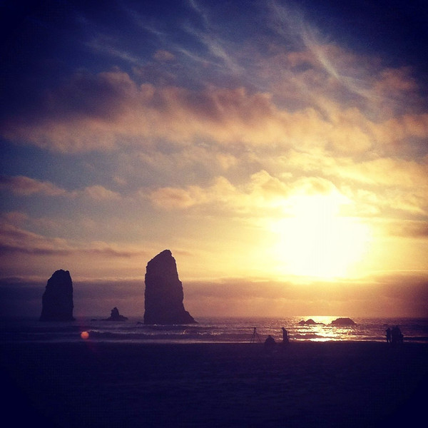 Cannon Beach, Sunset