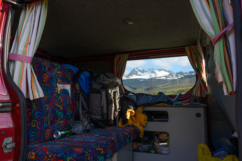 View from my Camper Van / Command center