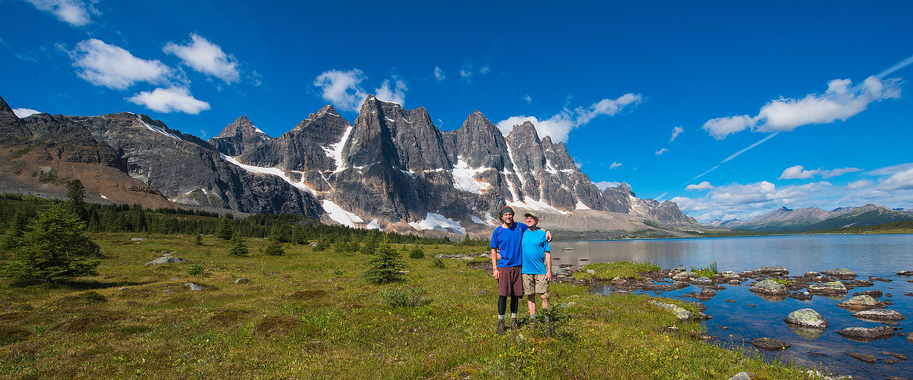 Backpacking & Traveling with My Dad - Ramparts Range, Canadian Rockies
