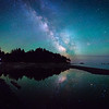 Shooting the Milky Way on the Pacific Coast with one of My Workshop Students