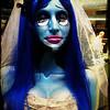 Jill as The Corpse Bride. Spoooooky!