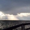Sunrise at the fishing pier. #clouds