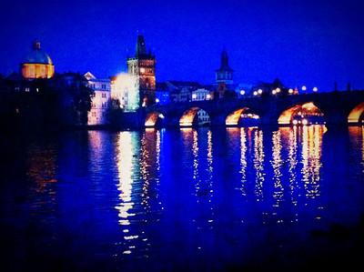 Charles Bridge Prague, Czech Republic April 29, 2012